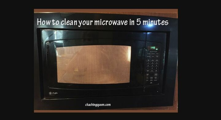 steam clean your microwave in just 5 minutes