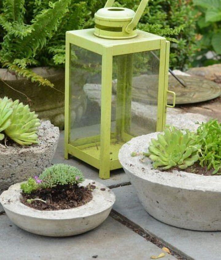 Concrete Patio Ideas (At Charlotte's House)