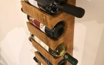 WINE RACK (Wall Hanging)