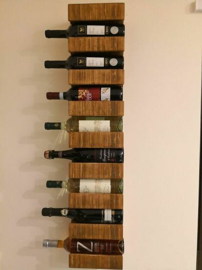 How To Build A Diy Wine Rack Wall Hanging Hometalk