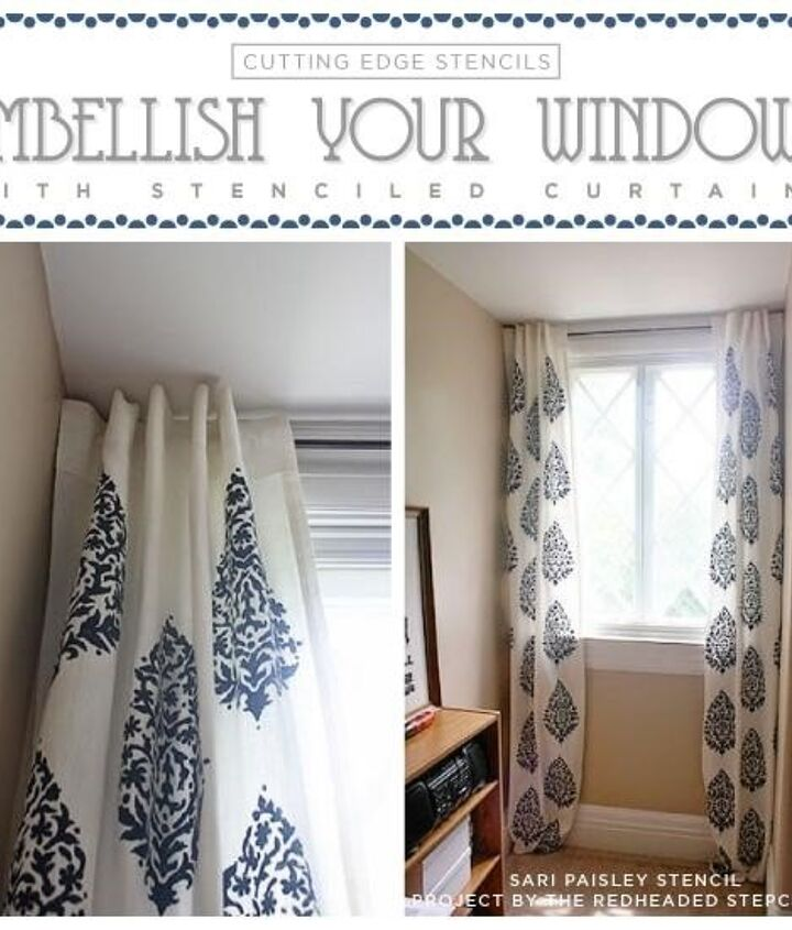 Curtains and Window Treatments (Cutting Edge Stencils)