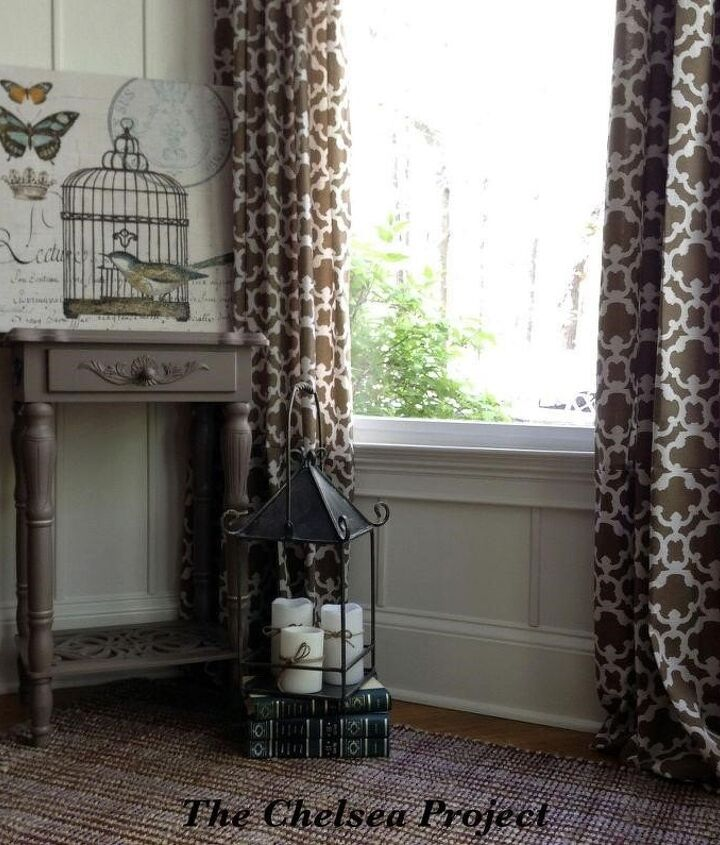 Custom Window Treatments (Susie @ The Chelsea Project Blog)