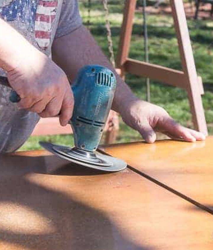 farmhouse diy how to paint an old kitchen table