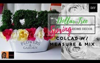 DIY Dollar Tree Spring Home Decor