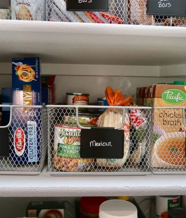 simple pantry makeover