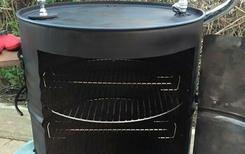 Behold the JD-smoker!  A Huge BBQ Smoker Out of 2 Barrels