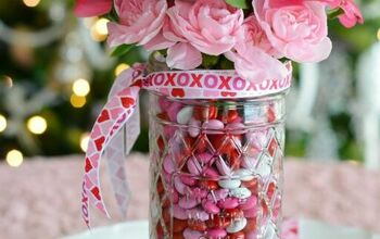'Made With Love' Blooming Candy Jar