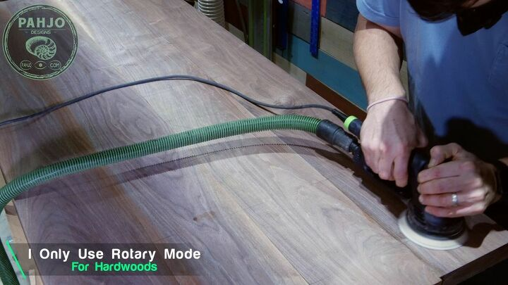 sand a wood table like a pro for refinishing