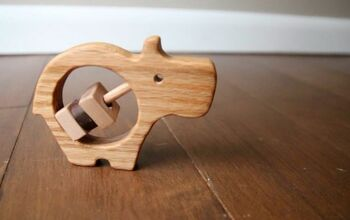 How to Make a Wood Baby Rattle