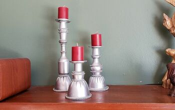 Found Objects Candlesticks