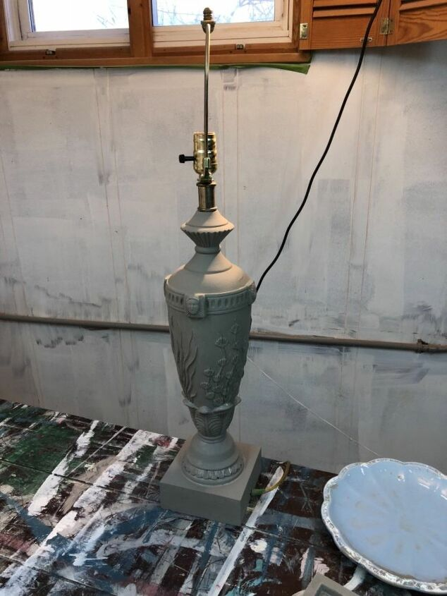 old lamp made new