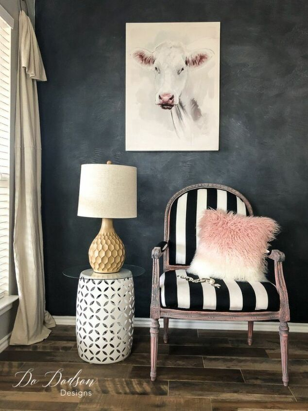 how to give your vintage armchair a makeover