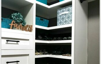 DIY Closet Organizer |Built-In Storage