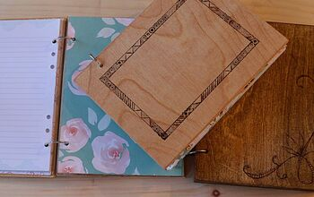 How to Make a Wooden Notebook