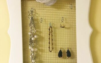 How To Make A Necklace Organizer Picture Frame