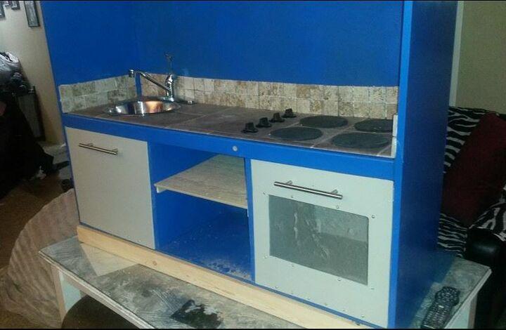build a beautiful play kitchen set ez