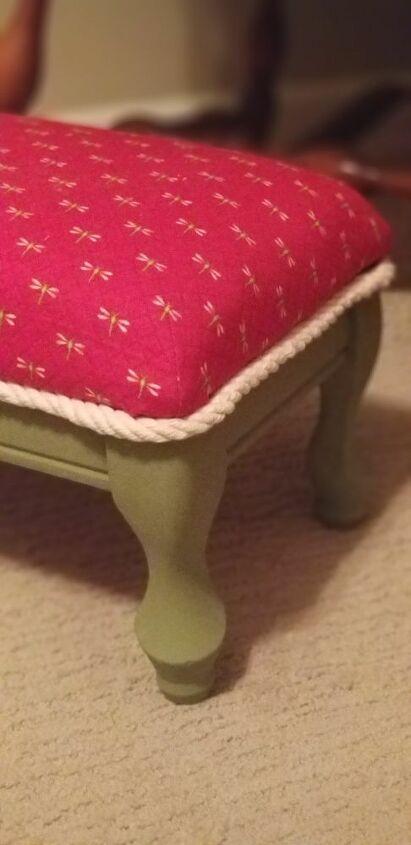 footstool refresher