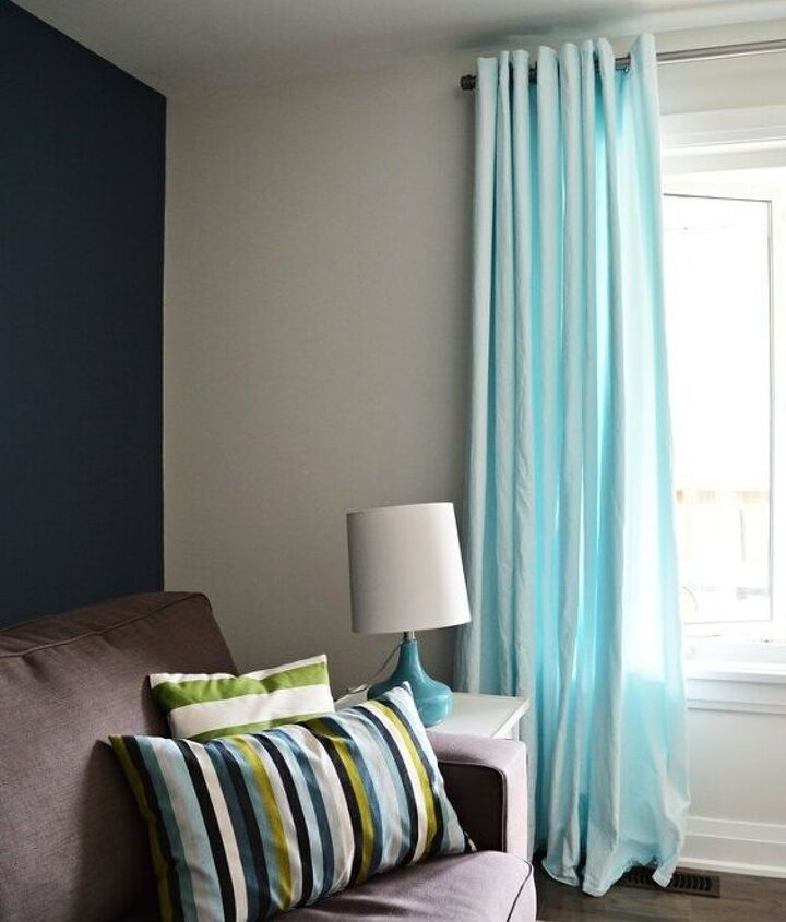 how to easily dye curtains