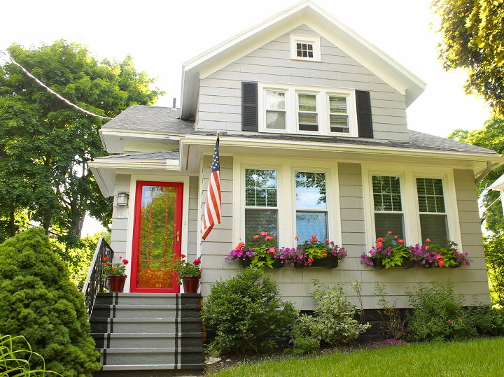 s 25 great ideas to improve your curb appeal in a weekend, Faux Runners Can Add Instant Front Yard Curb Appeal