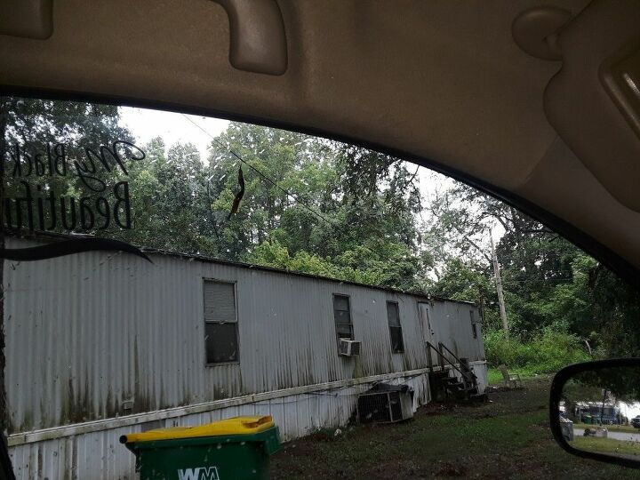 q how to bring alive a very old trailer home on the outside