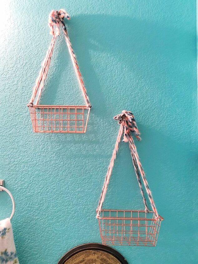 diy hanging basket