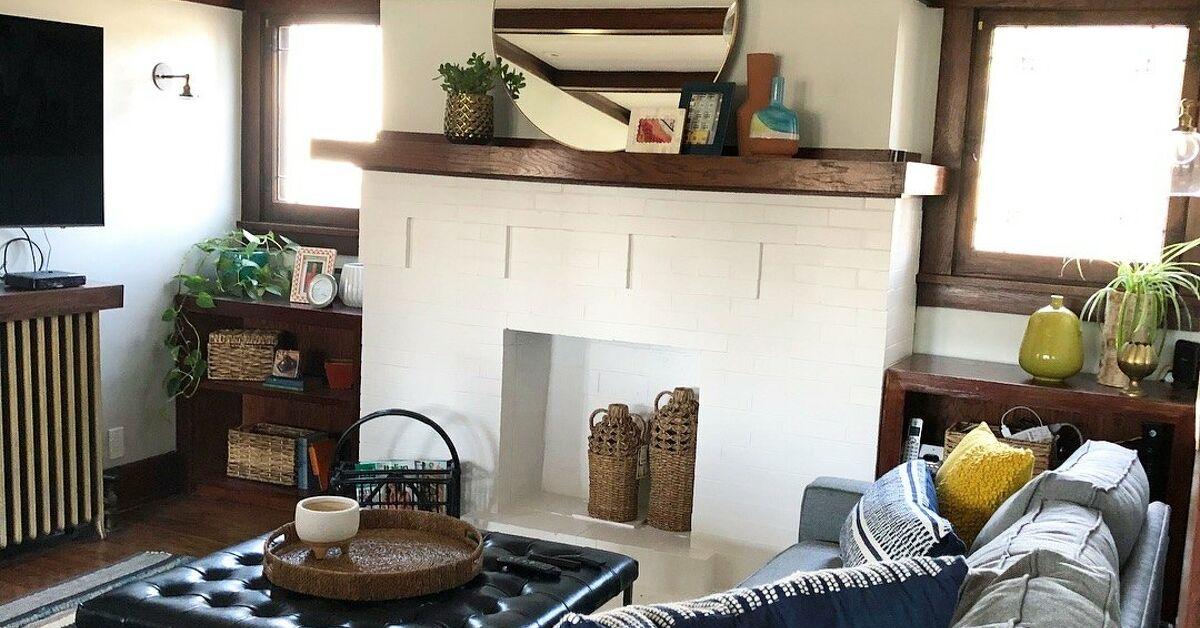 How to Make A Craftsman Living Room Update DIY | Hometalk