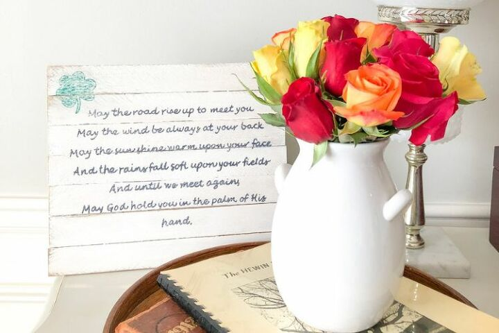 diy irish blessing sign perfect for st patty s day