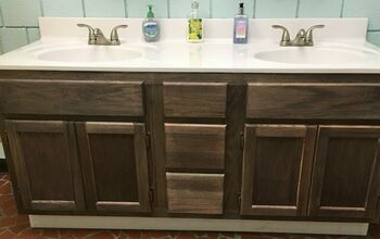 How to Take a Cabinet From Basic to Rustic