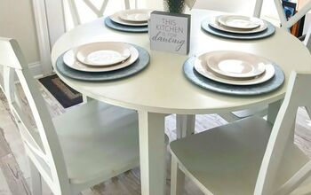 Tips for Painting a Laminate Table & Chairs