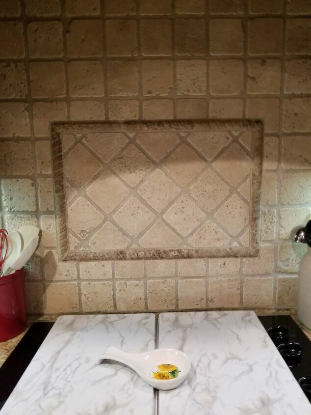 q what kind of changes or updates are possible with this backsplash