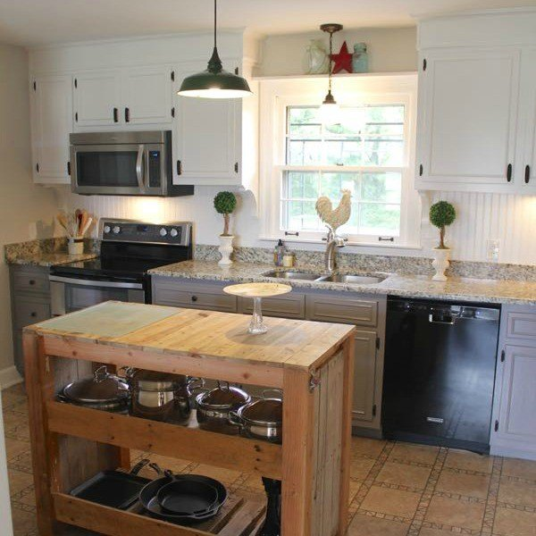 Farmhouse Kitchen Makeover (Noting Grace)