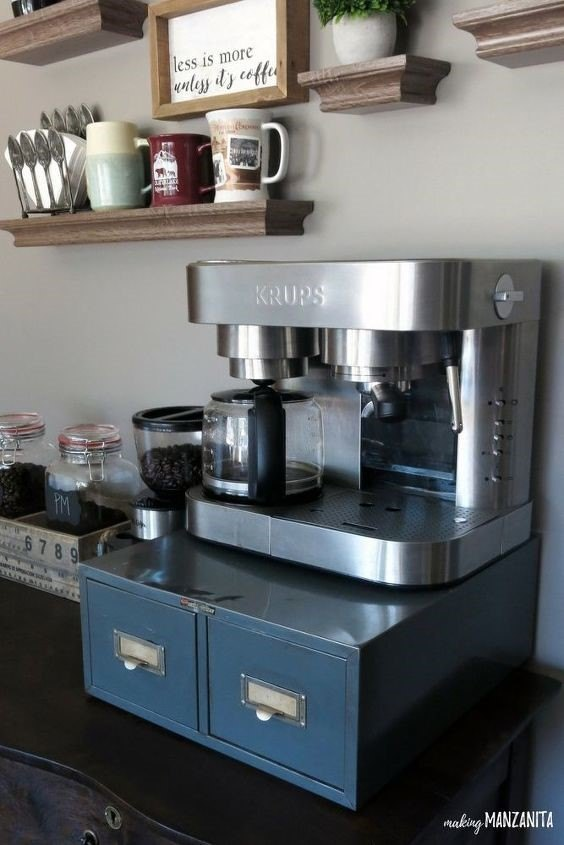 How to Clean a Coffee Maker with Vinegar (Chelsea @ Making Manzanita)