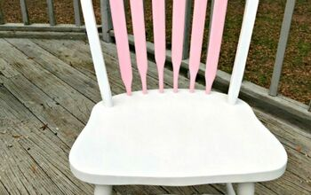 Update a Thrifted Chair With Chalk Paint