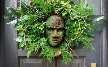 How to Make a Greenman Wreath