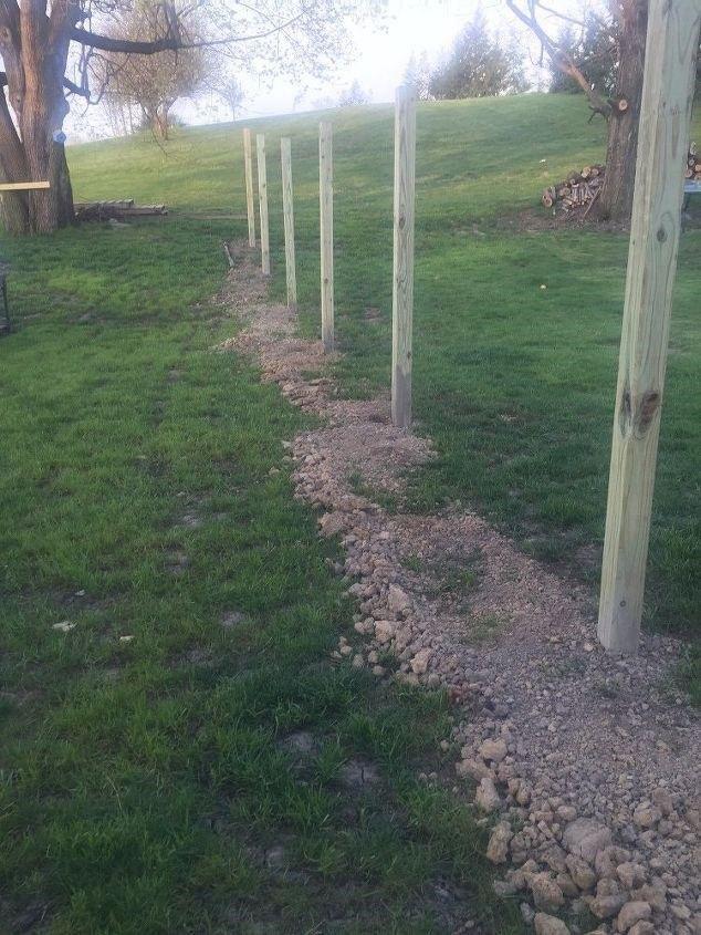 Building a Fence Ideas (Sandy)