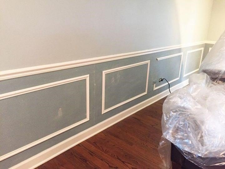 DIY Wainscoting Ideas (The Confran House)