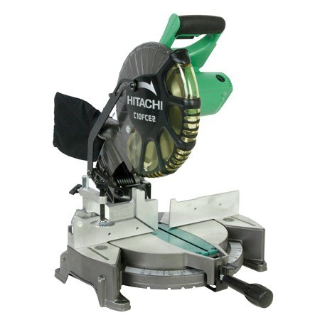 hitachi miter saw review a precise and powerful yet affordable saw, Hitachi Miter Saw Hitachi 15 Amp Corded 10 Single Bevel Compound Miter Saw