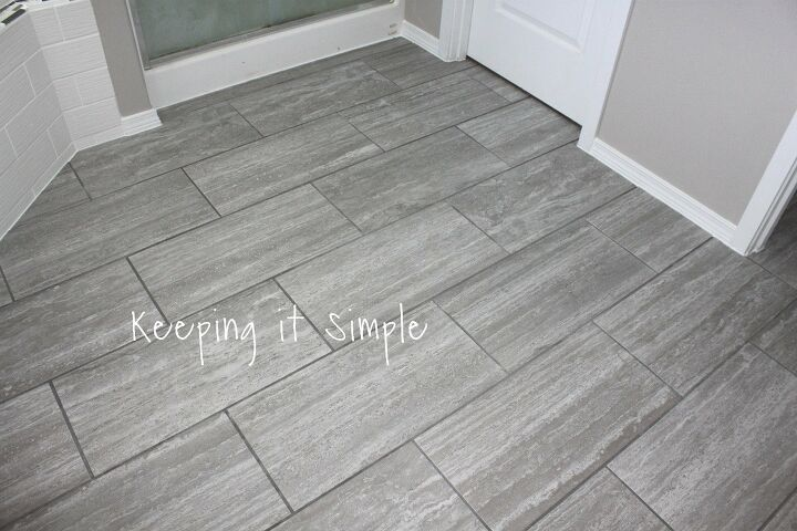 14 Stylish Bathroom Floor Tile Ideas For Small Bathrooms Hometalk