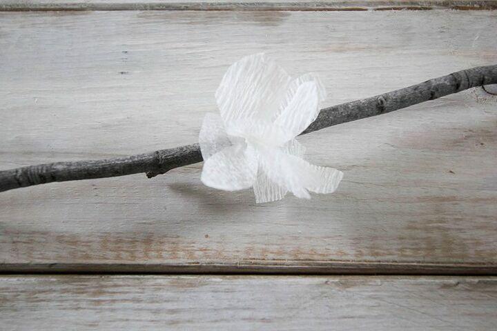 diy spring blossom branches