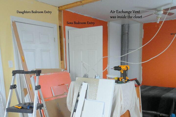 Demolition Interior Wall View