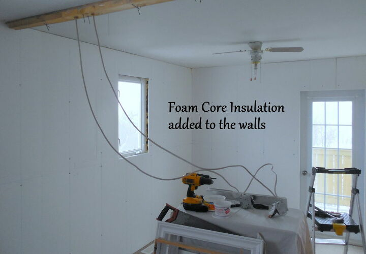Exterior Walls Insulated