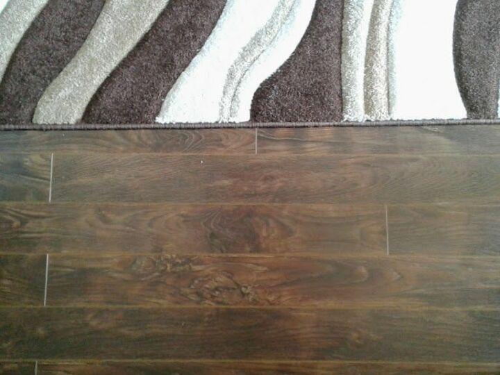 Wavy Rug  and New Flooring