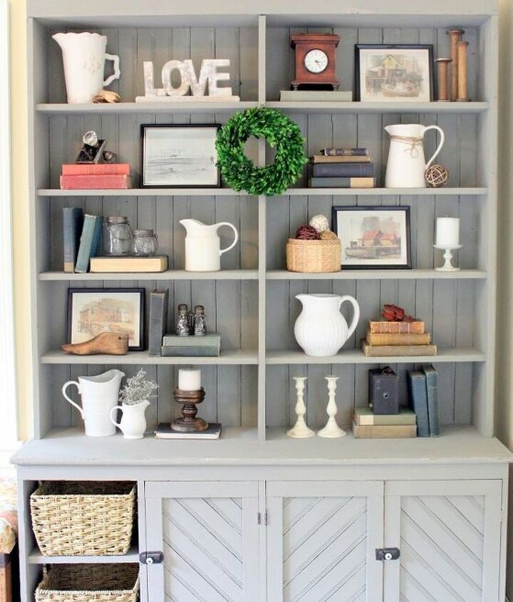 s 12 gorgeous ways to add character to your home with diy farmhouse deco, Fabulous Vintage Farmhouse Decor Furniture