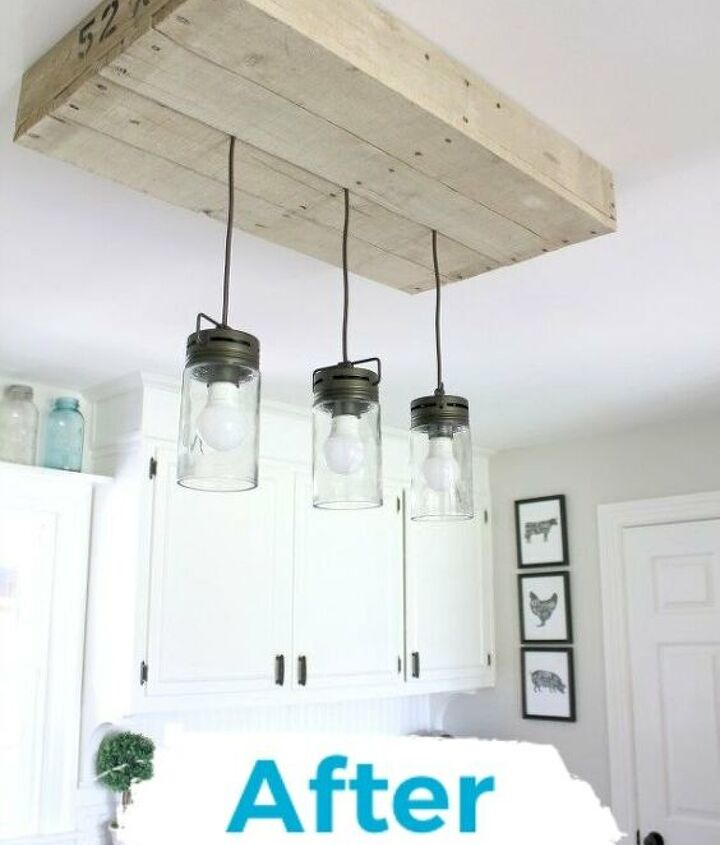 s 12 gorgeous ways to add character to your home with diy farmhouse deco, The Brightest Farmhouse Decor Lights