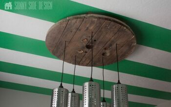 DIY Industrial Light Fixture