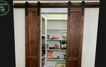 EASY DIY Pantry Barn Doors