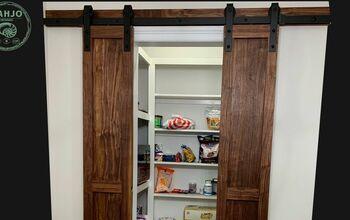 EASY DIY Pantry Barn Doors