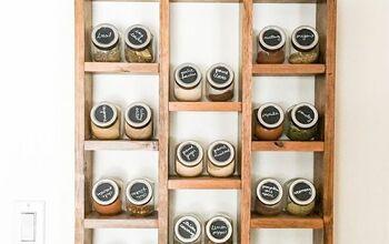 Dollar Store Spice Storage