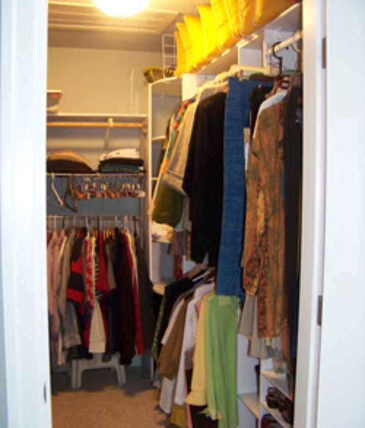 Closet Organizers and Garment Racks