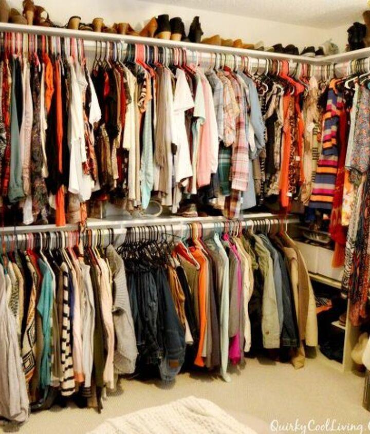 pare Bedroom into a Closet